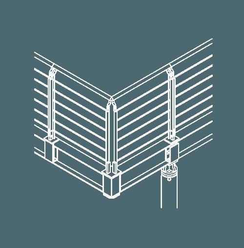 Brüstungen-Zeichnung