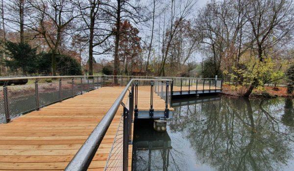 Brückenbau - Tierpark - Basel